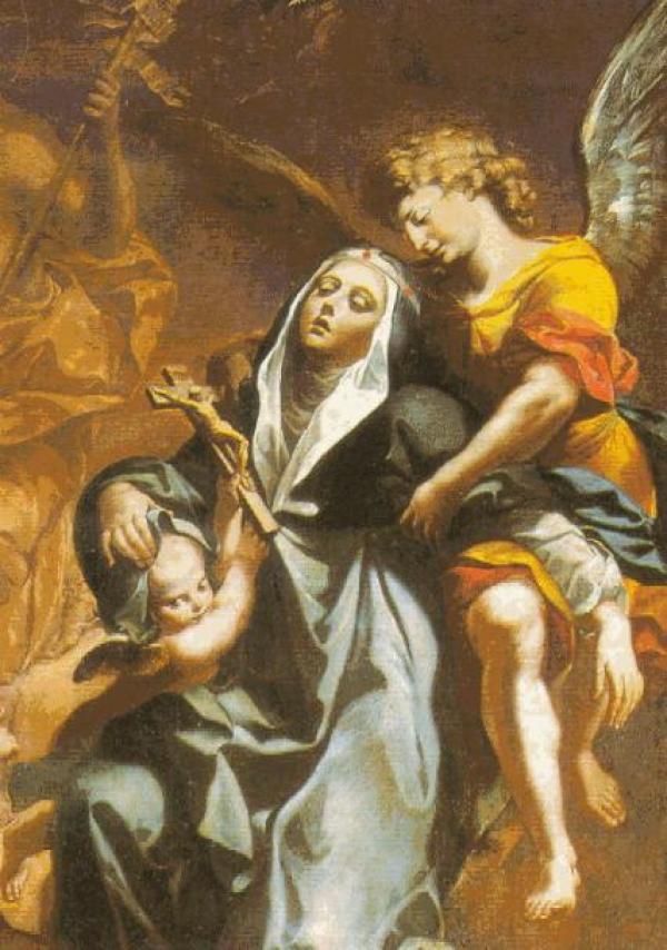Los niveles del Purgatorio revelados a santa Brígida